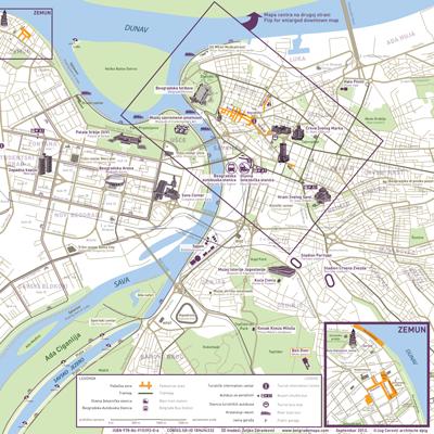 belgrade city map jug cerovic architect