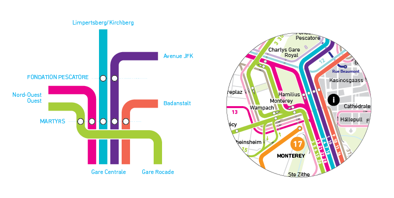 plan bus luxembourg bus map