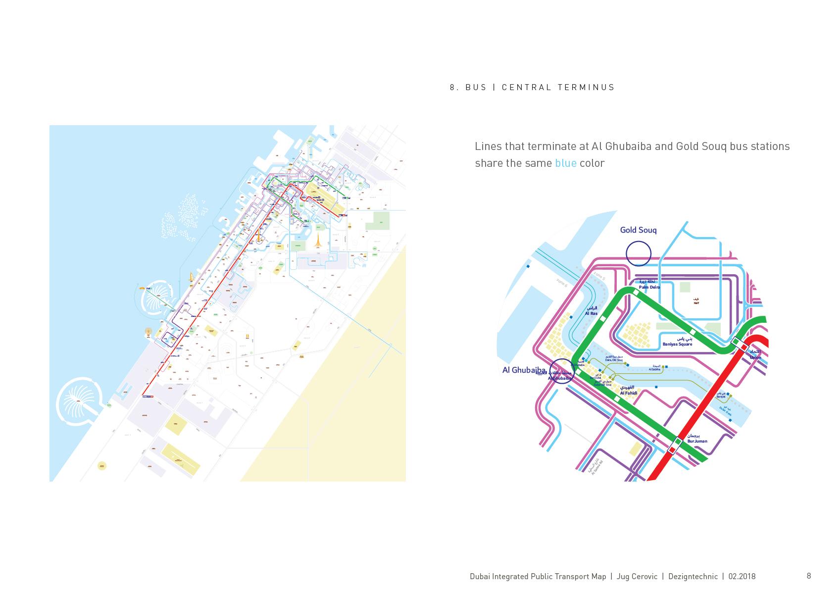Dubai metro bus Jug Cerovic Architect