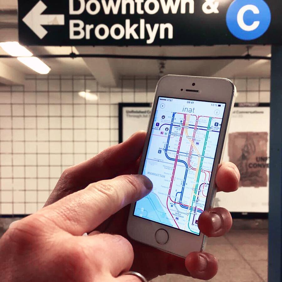 inat metro app