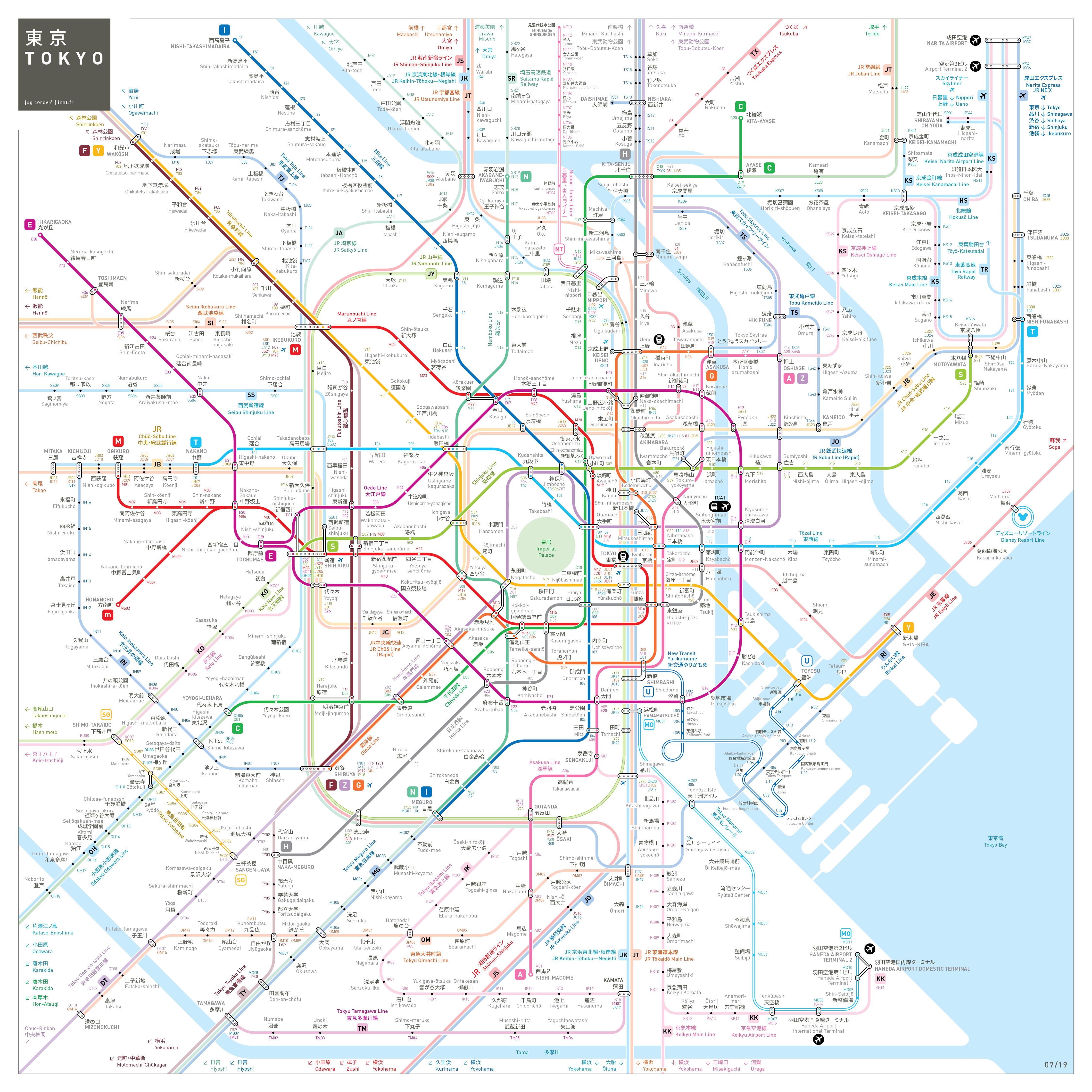 Seoul Station Subway Map.Metro Jug Cerovic Architect